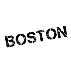 Boston rubber stamp vector