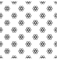little honeycomb pattern vector image