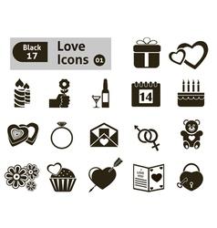Valentines icon vector image