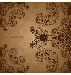 Indian Vintage Ornament vector image vector image