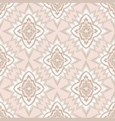 Seamless flower pattern abstract floral ornament vector