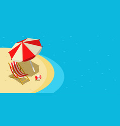 Vacation and travel concept vector