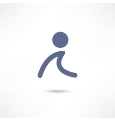 Walk icon vector