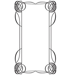 frame in style modern ii vector image