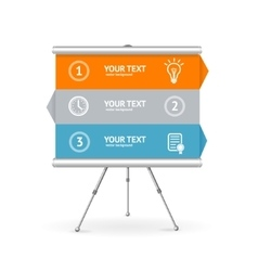 Business option banner vector