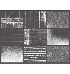 Picture from nine windows similar to a gray photo vector
