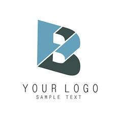B icon vector image