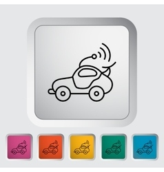 Car toy vector image
