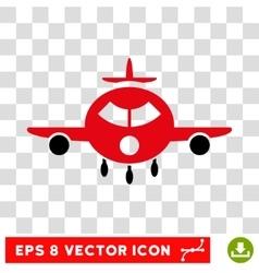 Cargo Aircraft Eps Icon vector image vector image