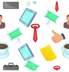 Corporation pattern cartoon style vector