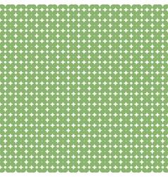 Green flower pattern background stock vector