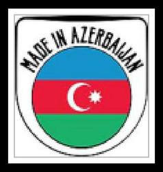 Made in Azerbaijan sign vector image vector image
