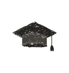 caphat graduate icon vector image