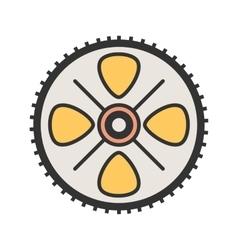 Cogwheel vector