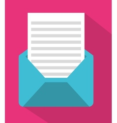 envelope mail vector image