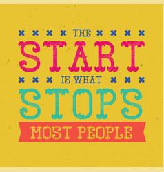 Motivational poster vector