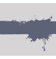 spray and drops vector image vector image
