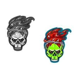 Skull tattoos vector