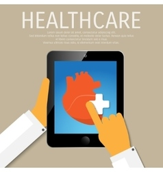 Healthcare tools in device vector