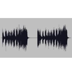 Soundwave art vector image