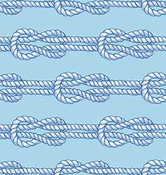 Engraved sailor knot vector