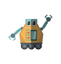 Robot multi-task technology shadow vector