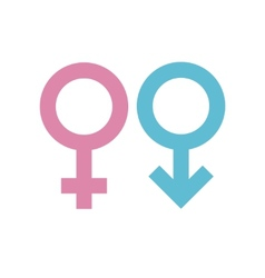 Gender signs vector