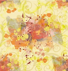 Colorful pattern with splashes vector