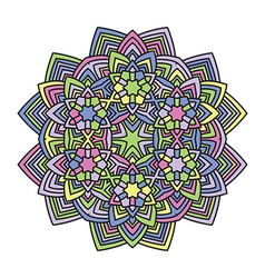 Mandala flower 1 vector