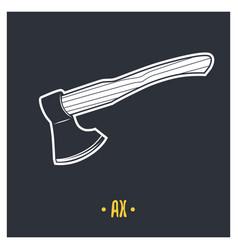 ax vector image vector image