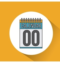 calendar date reminder icon vector image