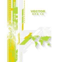 Minimal technology flat grunge background vector
