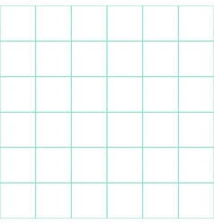 Mint Green Grid White Background vector image vector image
