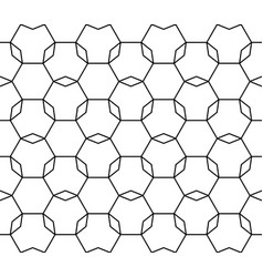 repeat ornamental background thin lattice vector image
