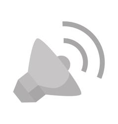 sound speaker sign vector image