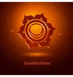 Swadhisthana chakra vector