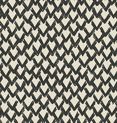 zigzag drawn pattern vector image