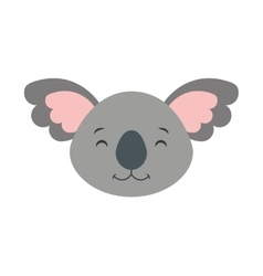 Cute cohala animal icon vector