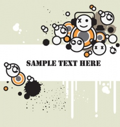 Tag background vector