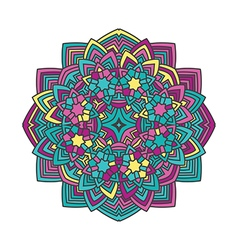 Mandala flower 2 vector