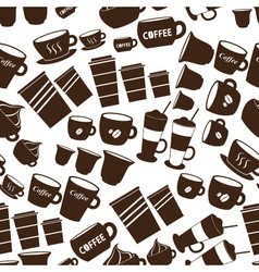 Coffee cups and mugs sizes variations icons vector