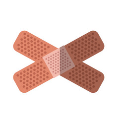 Adhesive bandages icon vector