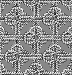 Crossed sailor knot vector