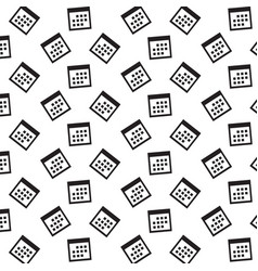 Calendar icon background vector