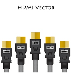 HDMI Size of vector image