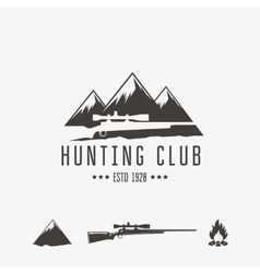 Hunt club vector image vector image