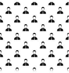 Businessman pattern vector