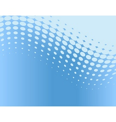 dot curve vector image