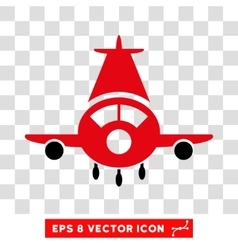 Cargo Plane Eps Icon vector image vector image