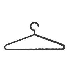 clothing hanger hook vector image